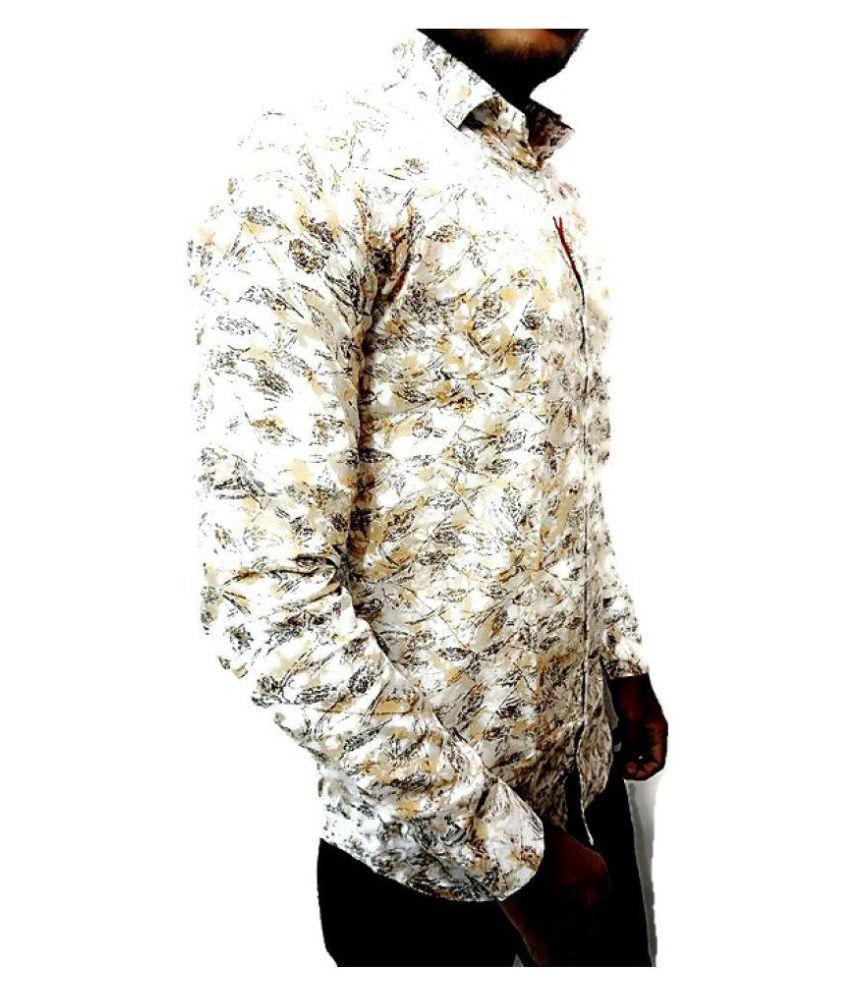 citi style White Regular Fit Shirt