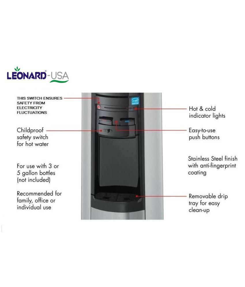 Leonard 5 Ltr Inverter Compressor Water Dispenser Le Usacoolmagic Ss Iball Ups Circuit Diagram Mini Bar Refrigerator