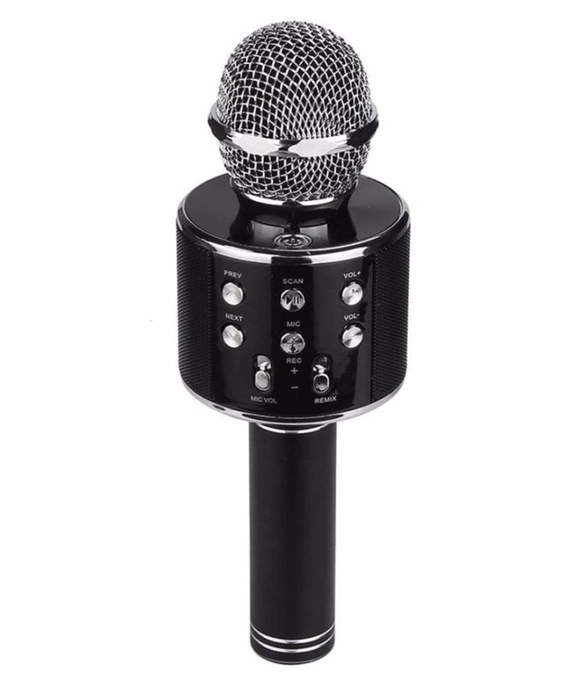 Mike Wireless WS 858 With Audio Recording