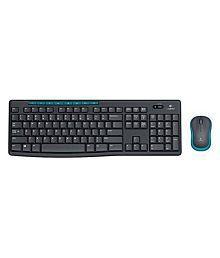 Logitech MK275 Black Wireless Keyboard Mouse Combo