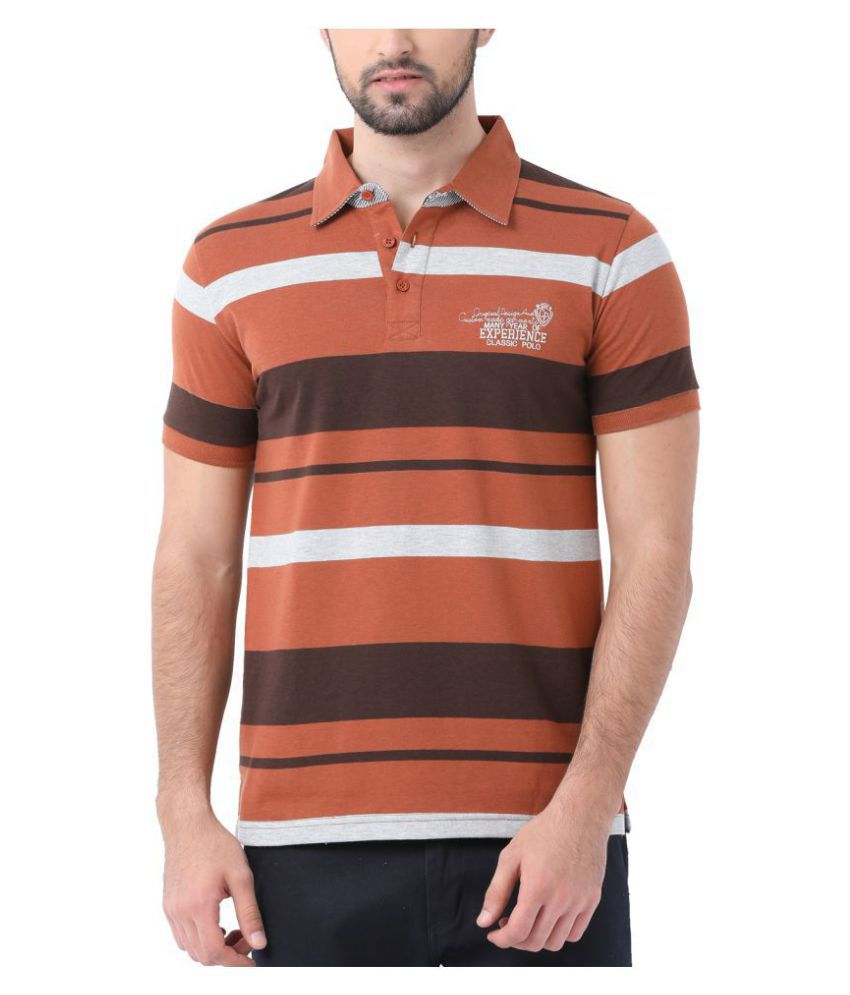 e247ad872 Classic Polo Brown Slim Fit Polo T Shirt - Buy Classic Polo Brown Slim Fit  Polo T Shirt Online at Low Price - Snapdeal.com