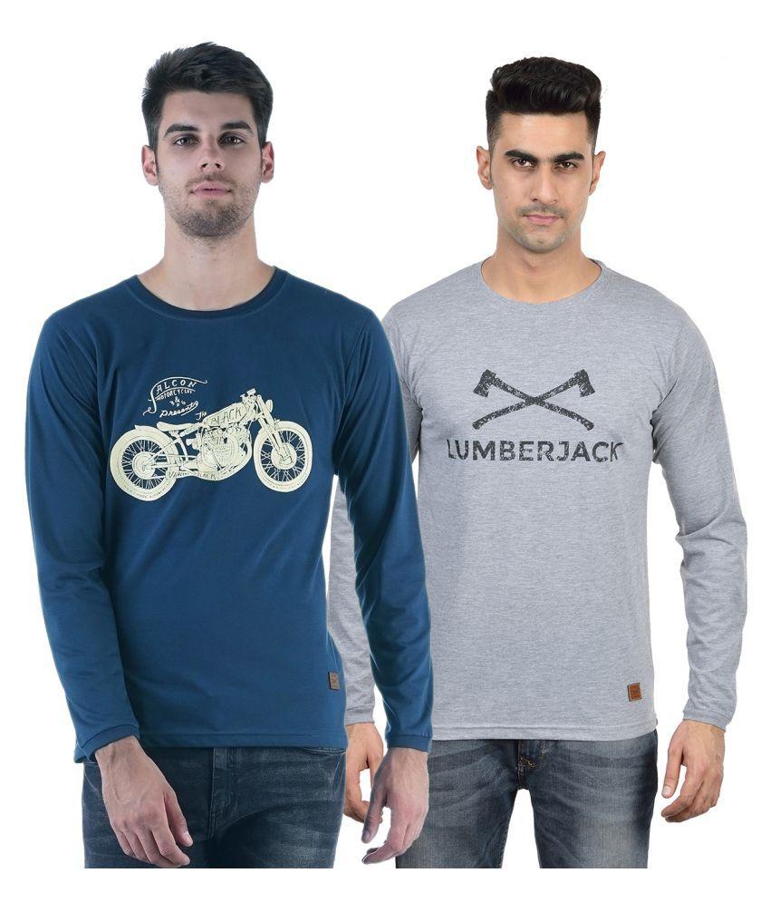DFH Multi Round T-Shirt Pack of 2