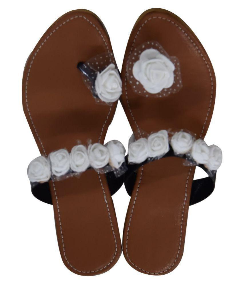 Decot Paradise White Ethnic Footwear