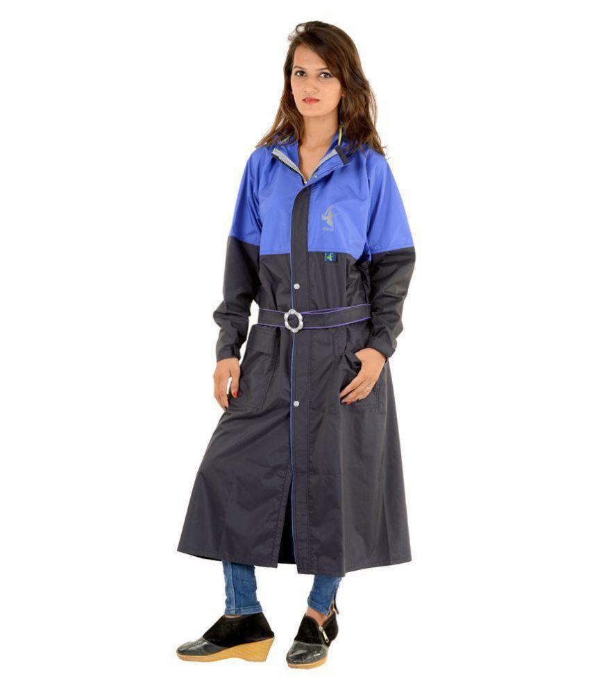 NiceG Short Rainwear - Black