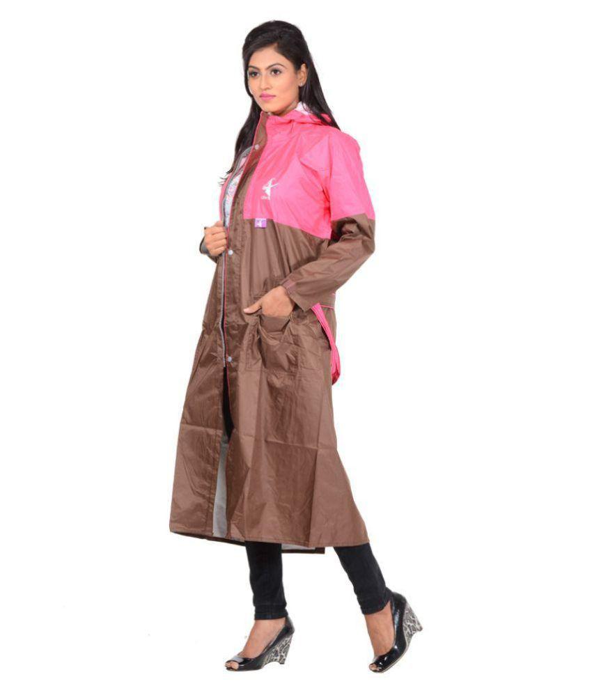 NiceG Short Rainwear - Brown