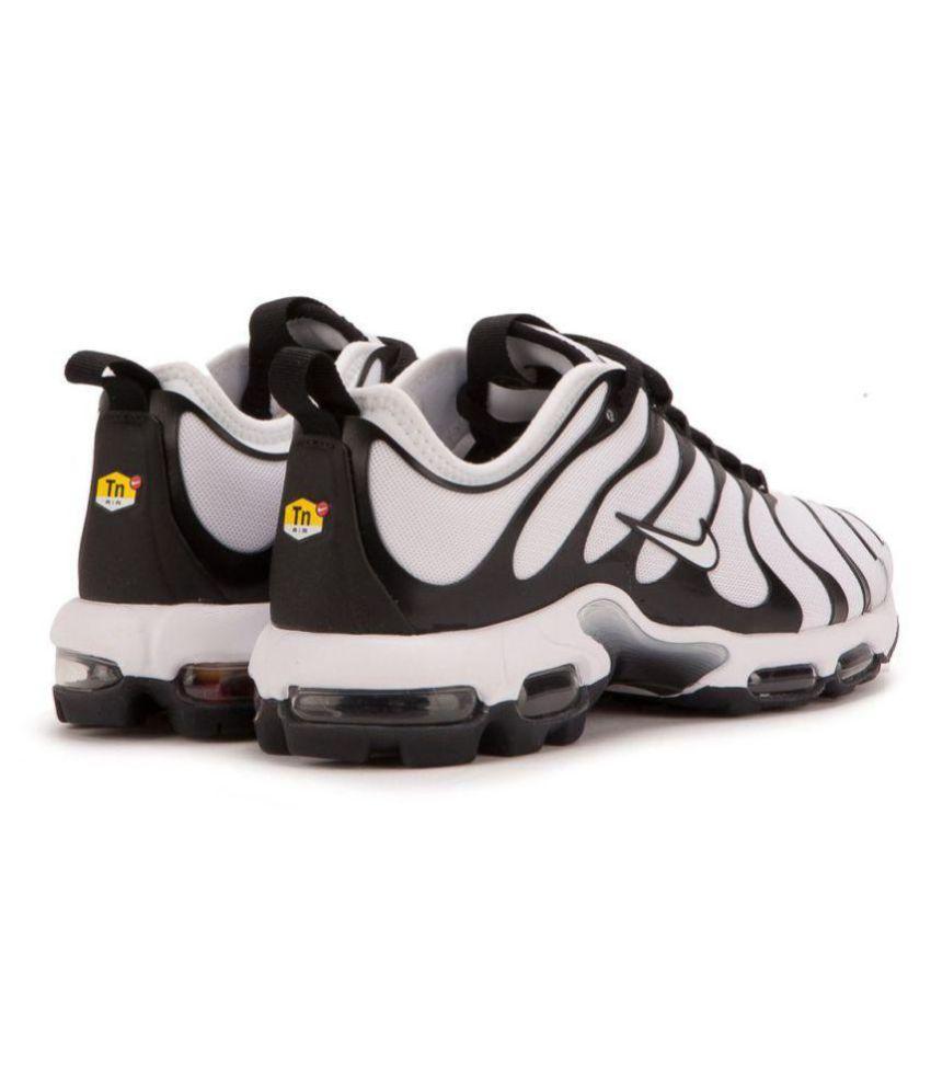 super popular 120bd ac151 Nike PLUS TN ULTRA TRIPLE White Running Shoes