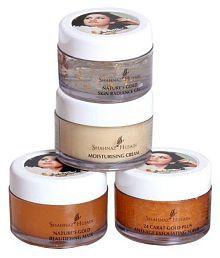 Imported Combo Shahnaz Husain Gold Facial Kit 24 Carat Skin Radiance Face 40 gm