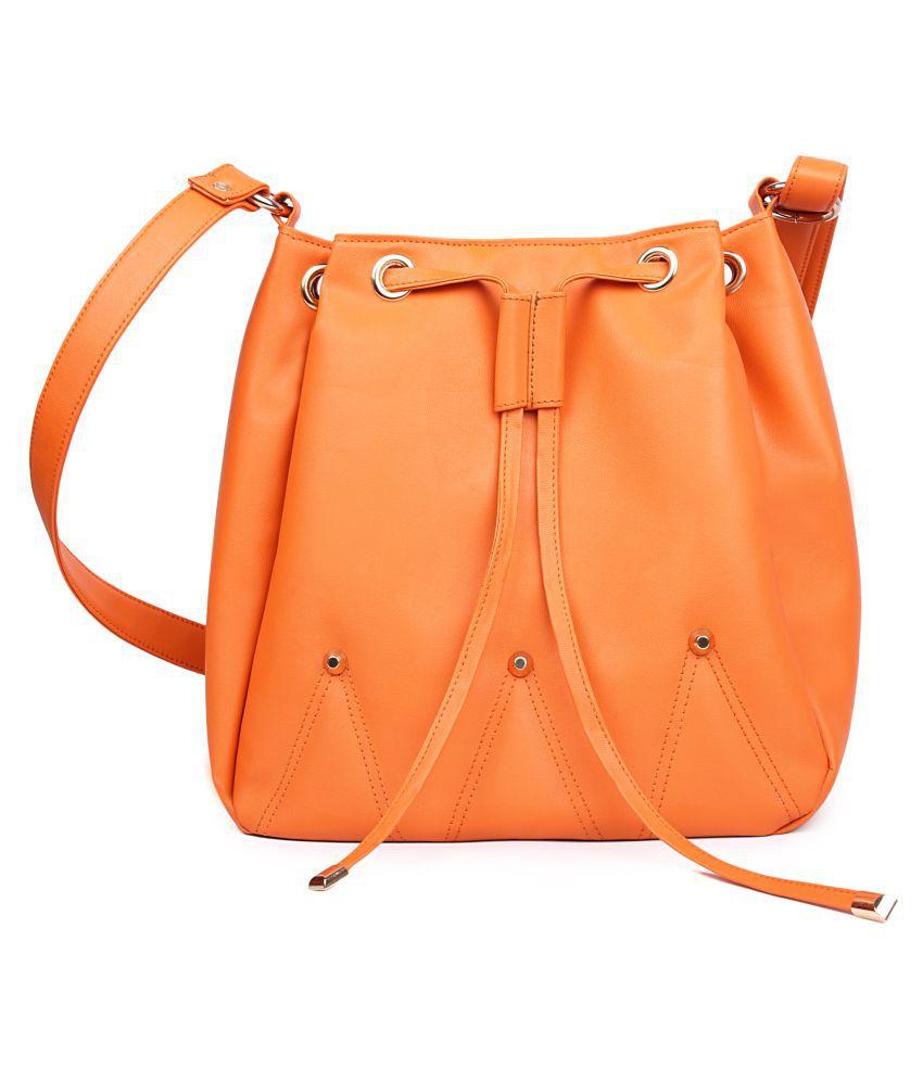 JBR Orange P.U. Sling Bag
