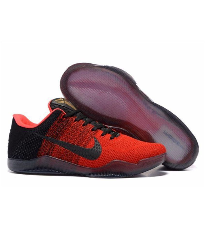 e2a15ae27c8 Nike Kobe 11 Xi Elite Achilles Heel Red Basketball Shoes - Buy Nike Kobe 11  Xi Elite Achilles Heel Red Basketball Shoes Online at Best Prices in India  on ...