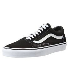 VANS Unisex Old Skool Sneakers Black Casual Shoes