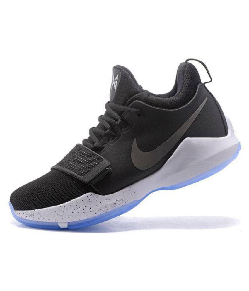big sale 17d06 afdd0 Nike PG 1 PRE HEAT Black Basketball Shoes