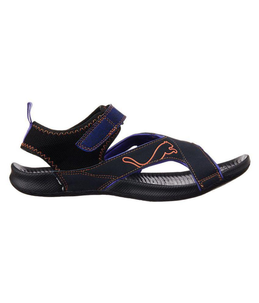760d7a2816de Puma Men s Jiff 5 Ind. Athletic Blue Sandals Price in India- Buy ...