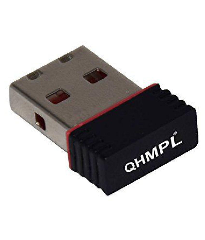 Quantum WiFi Dongle Receiver UltraFast Transmission Receiver - Black