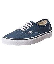 VANS Unisex Authentic Sneakers Blue Casual Shoes