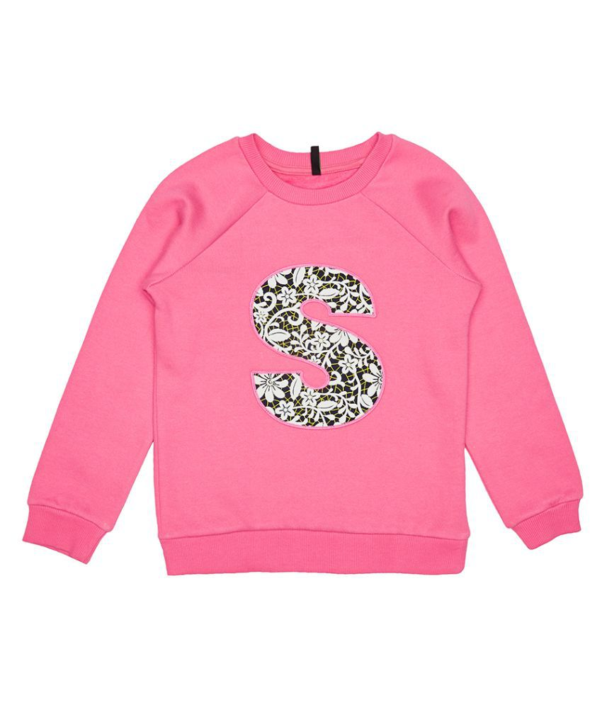 United Colors of Benetton Sweatshirt With S In Applique - 16A3044C161OI901XX