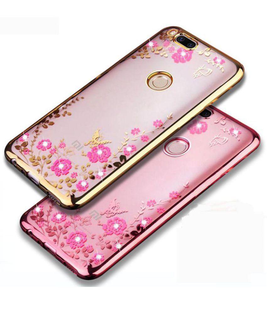 meet f0205 e41fc Xiaomi MI A1 Plain Cases FONOVO - Rose Gold