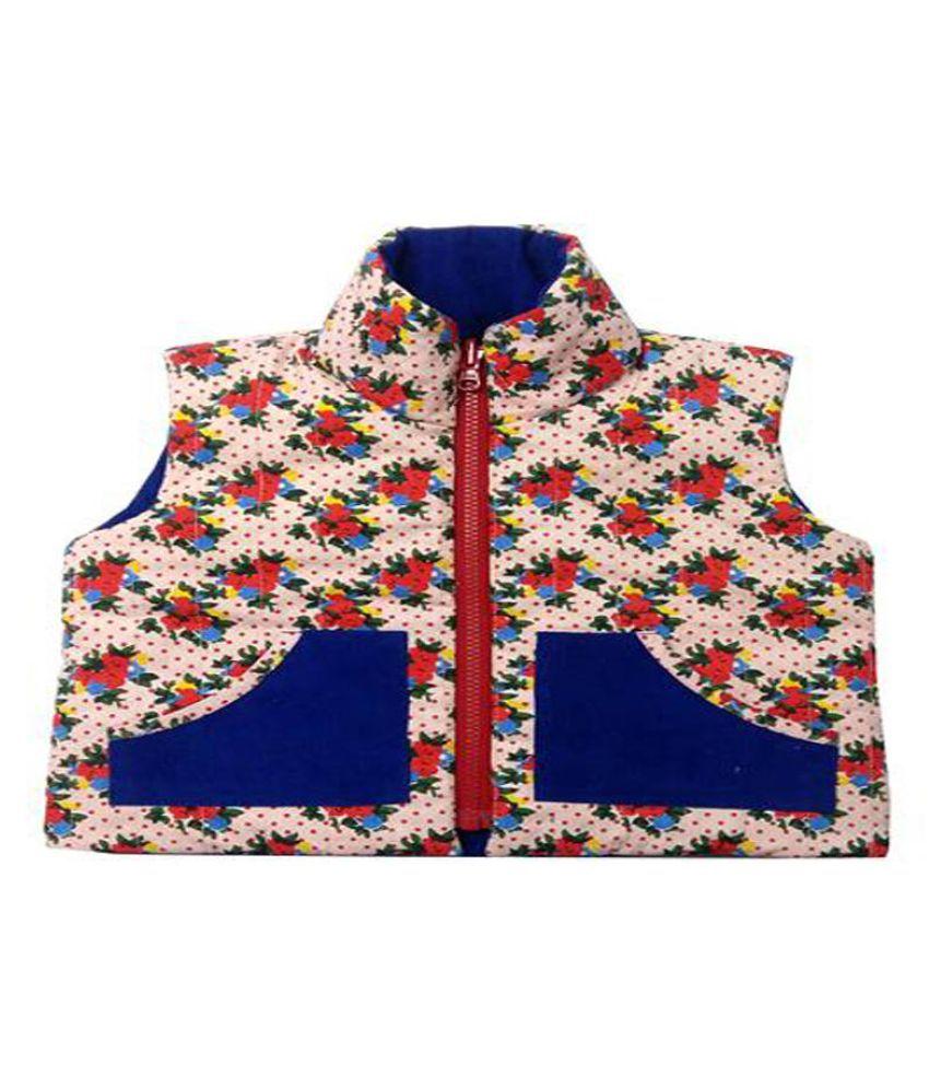 Girls Pink Kensington Blue Corduroy Jacket
