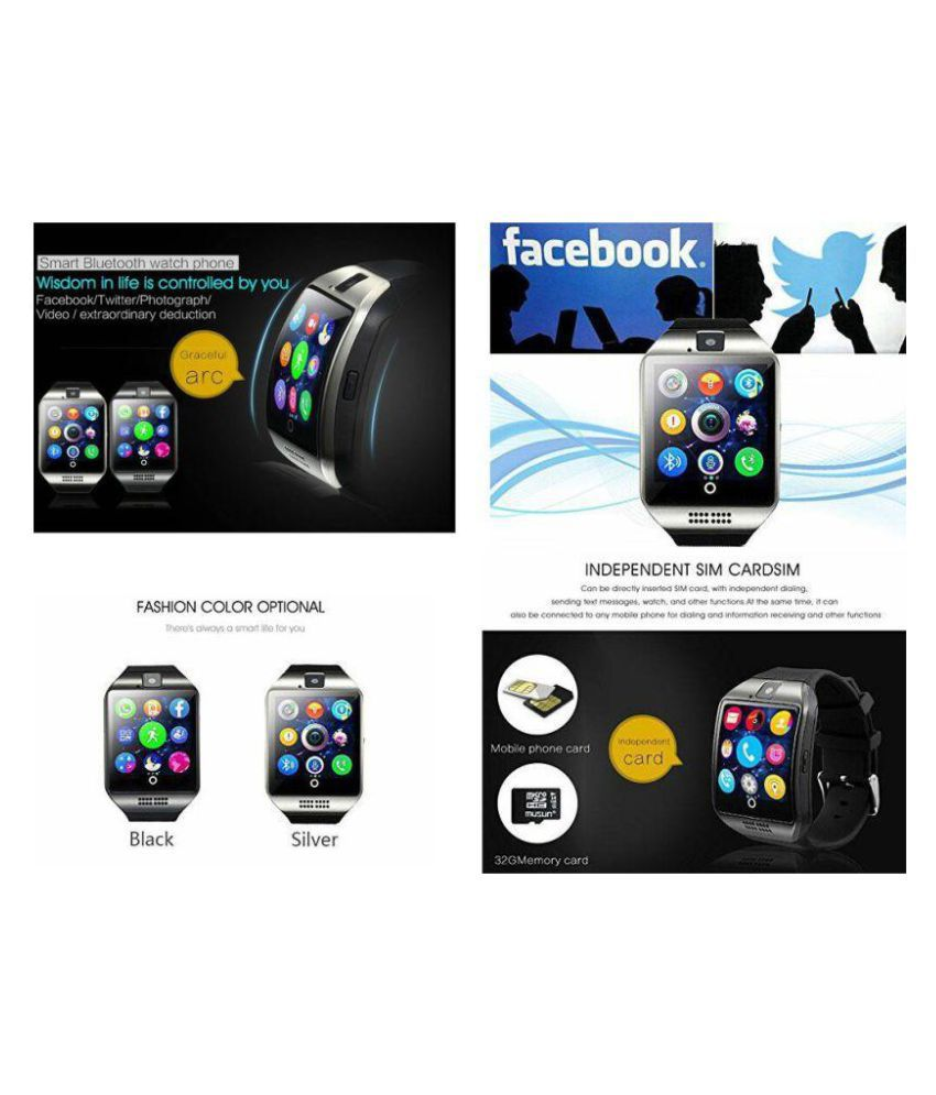 Life Like Q18 bluetooth with sim & tf card slot Smart Watches
