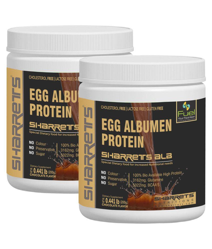 SHARRETS NUTRITIONS ALB-Egg White Albumen Powder 400 gm