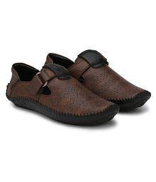 Big Fox Roman Brown Sandals