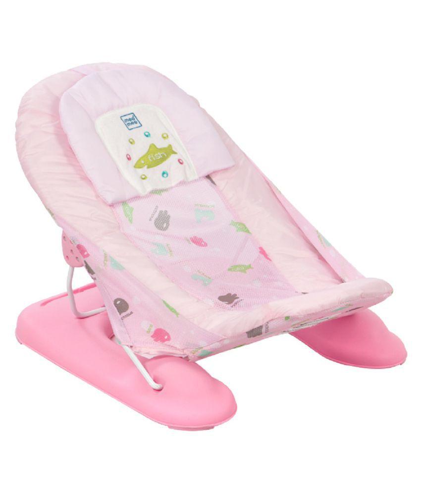 Mee Mee Pink Plastic Baby Bather