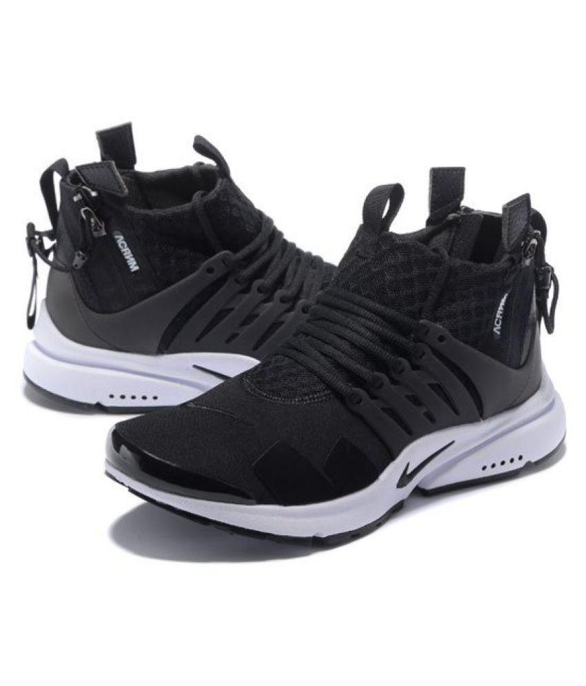 Nike Presto Long Acronym Black Running Shoes