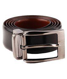 WOODLAND IMPORTS LEATHER Black Leather Formal Belts