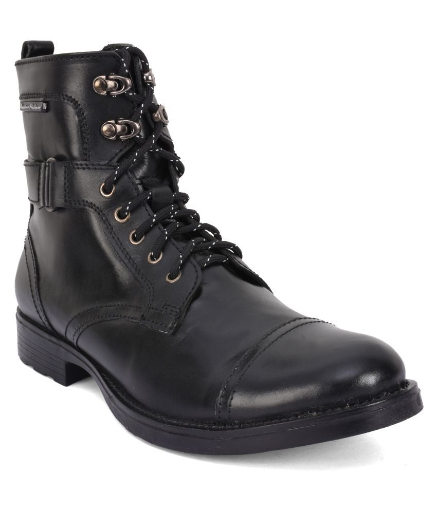 Massimo Italiano Black Casual Boot