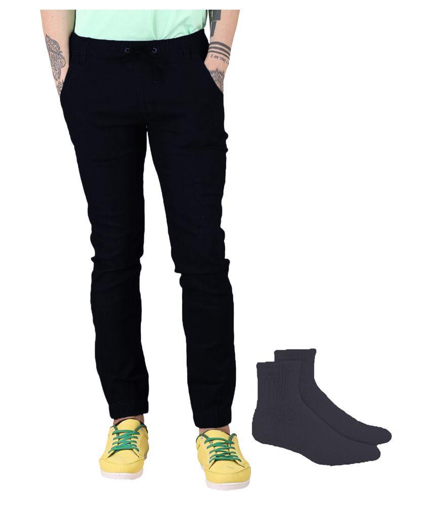 Van Galis Black Regular Fit Jeans