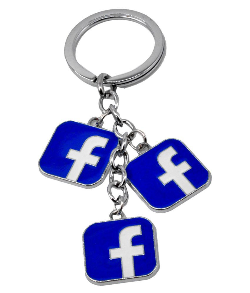 Faynci Superfine Facebook Key Chain for Gifting