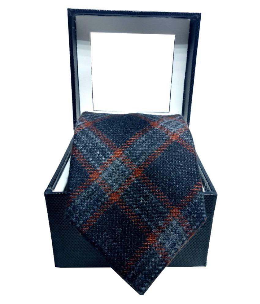 Mentiezi Multi Checks Woven Necktie