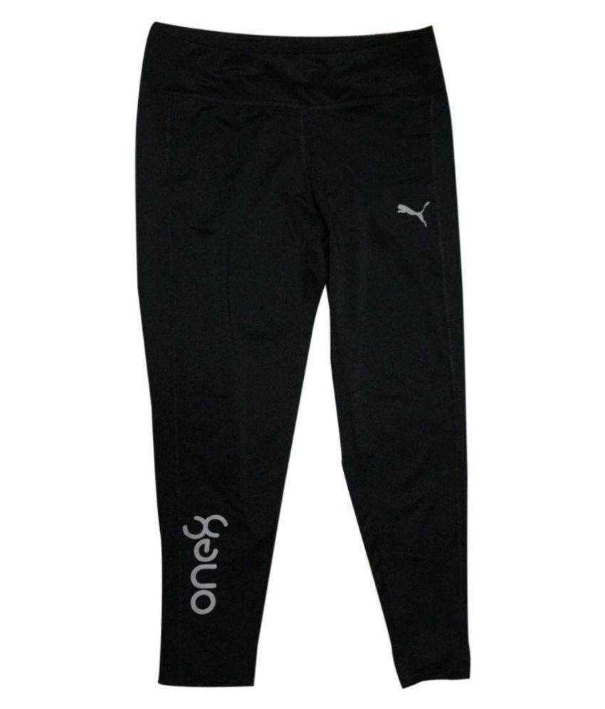 Puma Black track pants for Women/Girl