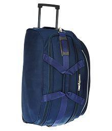 Pronto Blue Solid Duffle Bag