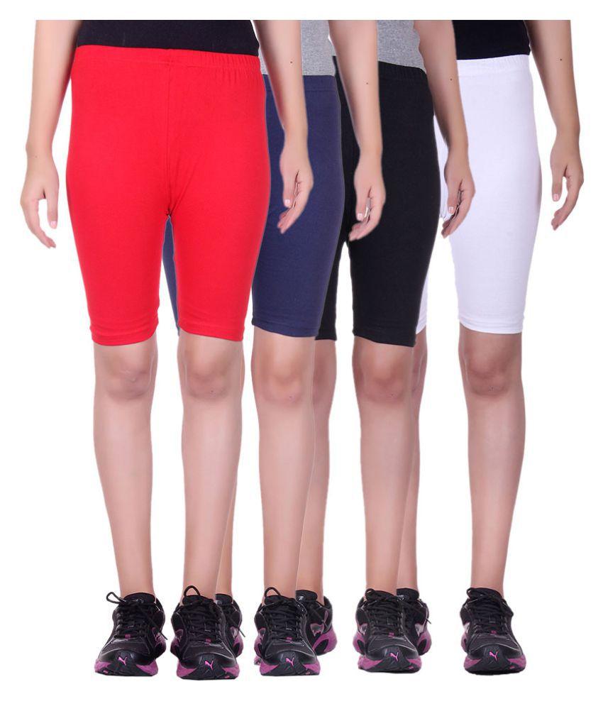 Belmarsh Girls Cycling Shorts - Pack of 4
