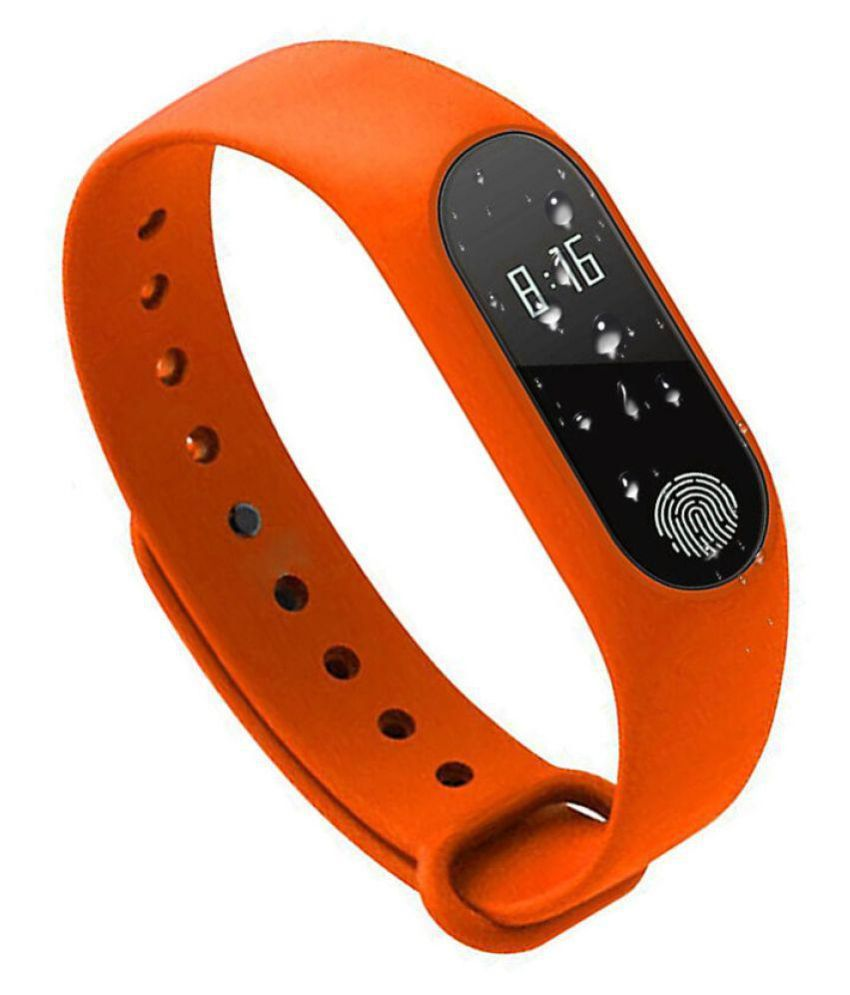 7da64bbc014 JXL M2 Waterproof Heart Monitoring Fitness Smart Band (Compatible with all  Android   IOS Devices)  Buy Online at Best Price on Snapdeal
