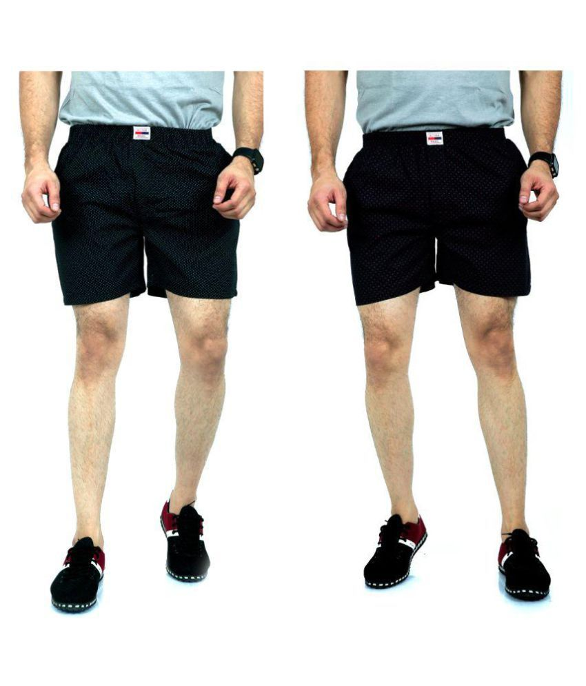 ACTIVE BASIC Multi Shorts Pack of 2