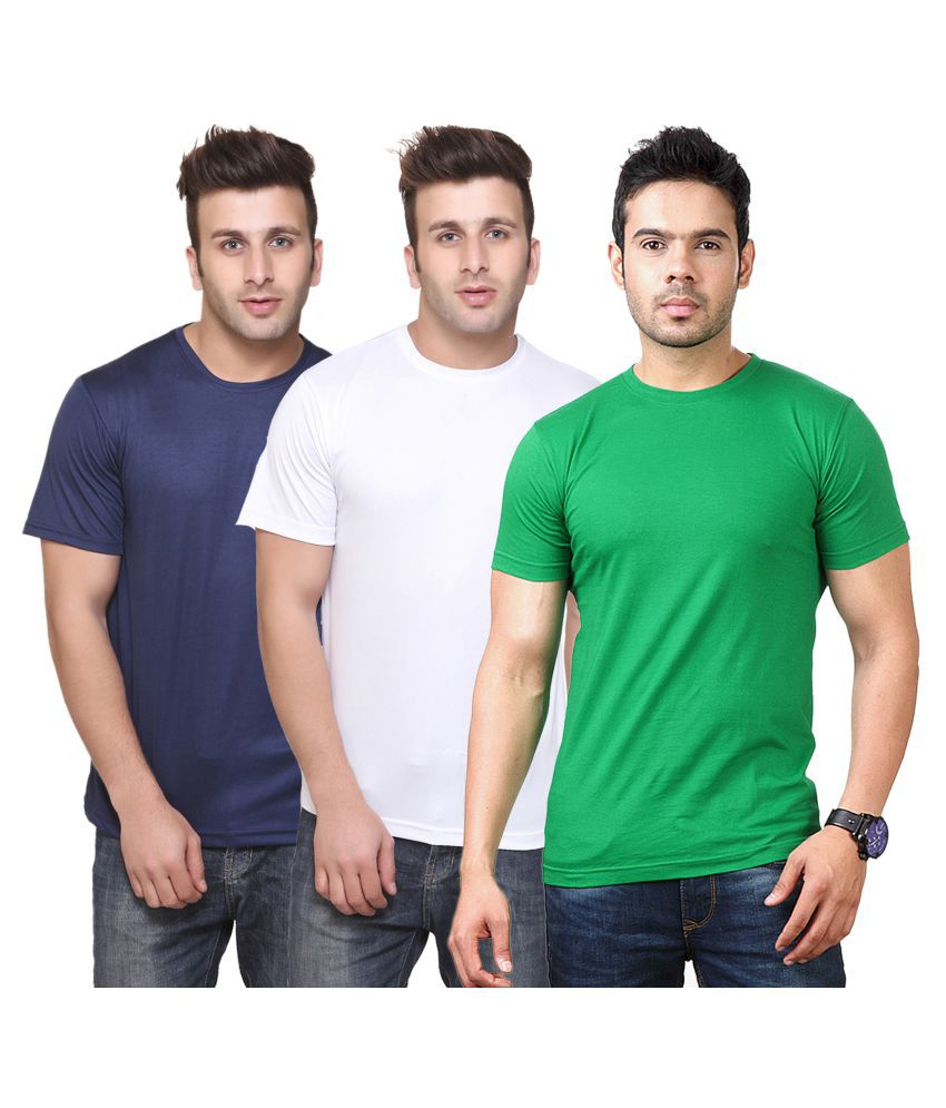 CONCEPTS Multi Round T-Shirt Pack of 3