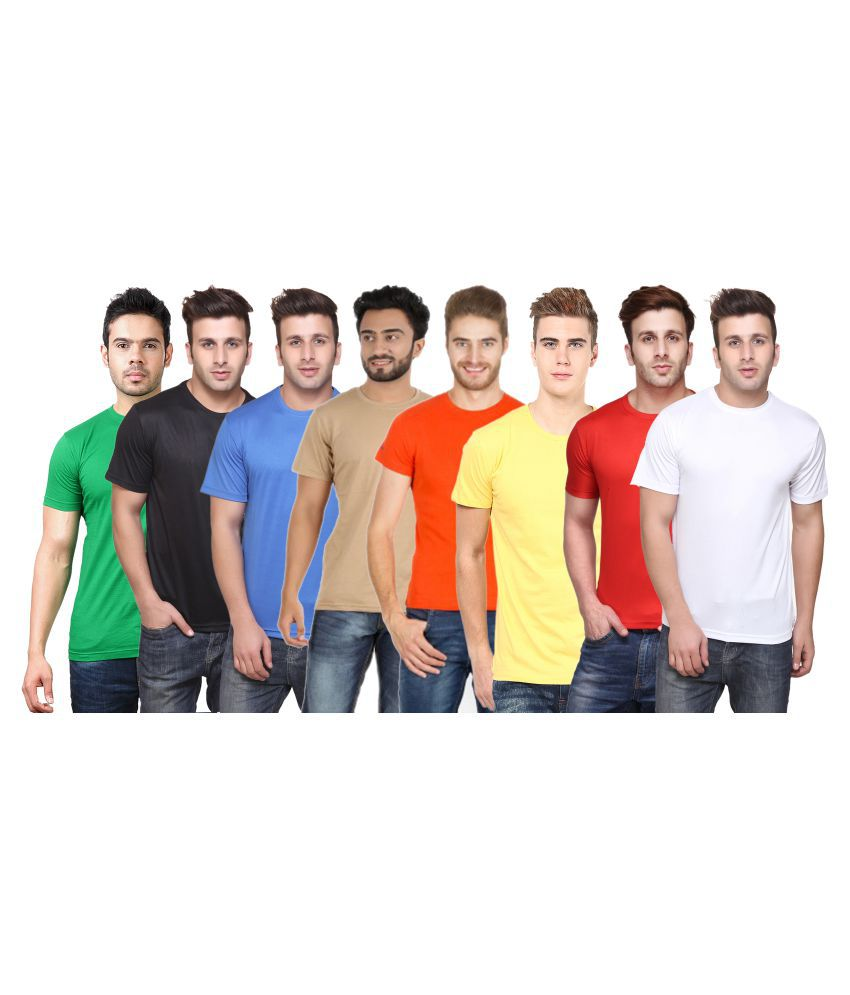 CONCEPTS Multi Round T-Shirt Pack of 8