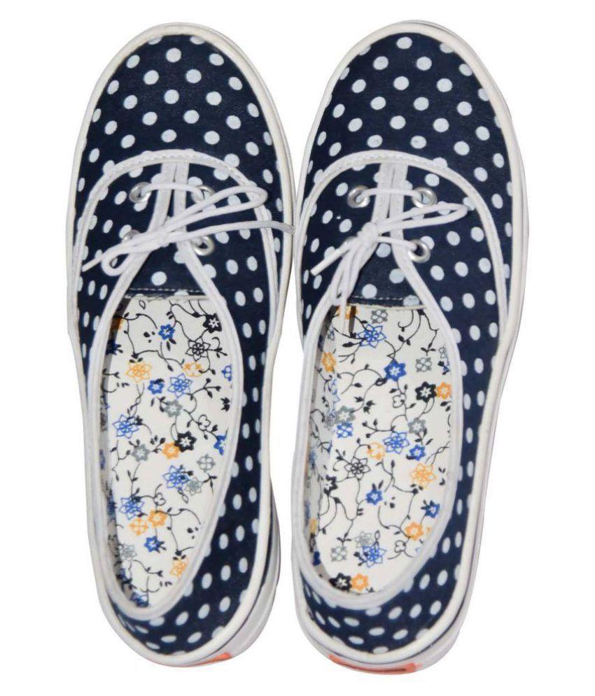 Decot Paradise Blue Ethnic Footwear