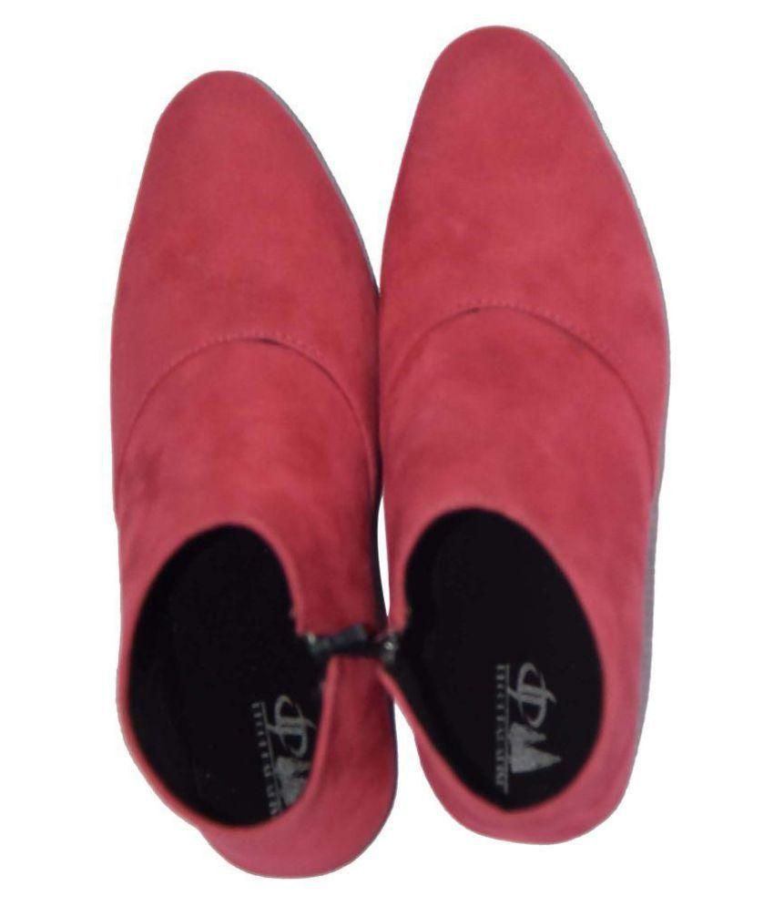 Decot Paradise Pink Ethnic Footwear