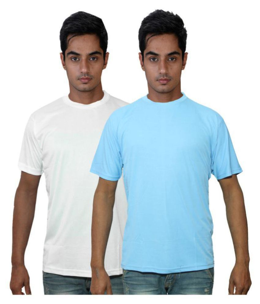 Dfnk Atlanta Multi Cotton T-Shirt Pack of 2