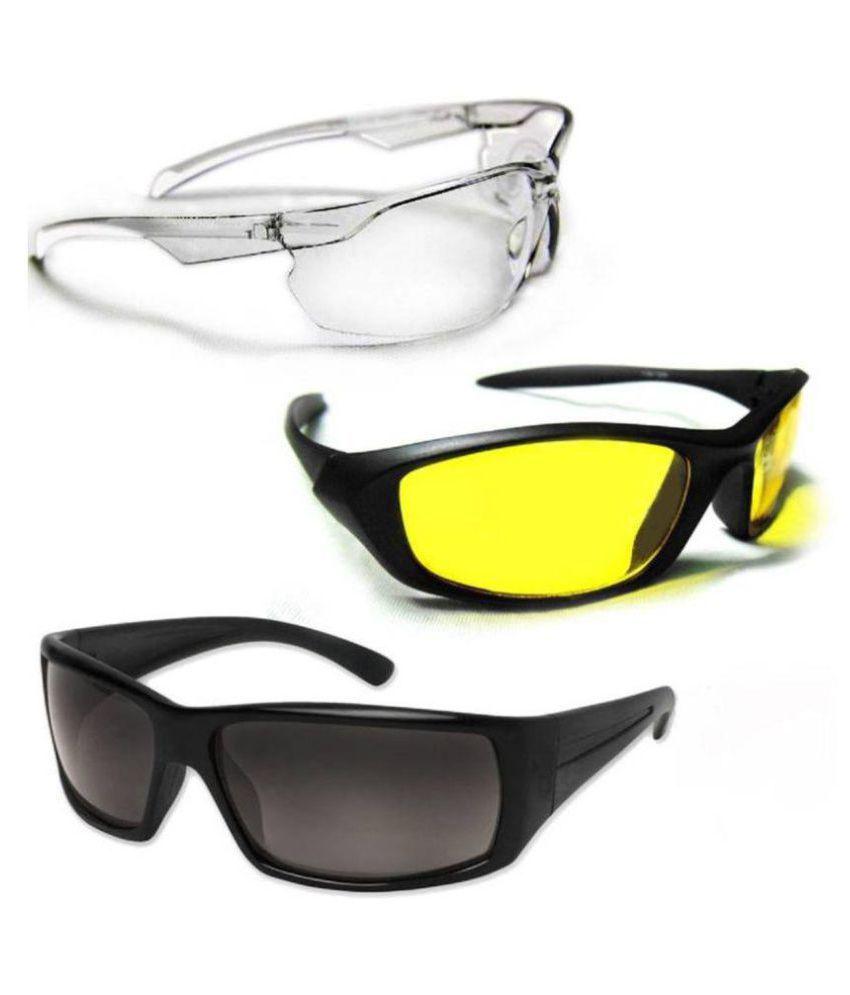 7fd6303958 Day   Night HD Vision Goggles Anti-Glare Polarized Sunglasses Men Women  Driving Glasses with Transparent White Goggle - Buy Day   Night HD Vision  Goggles ...