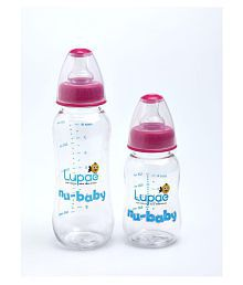 lupae nubaby feeding bottle (combo pack)