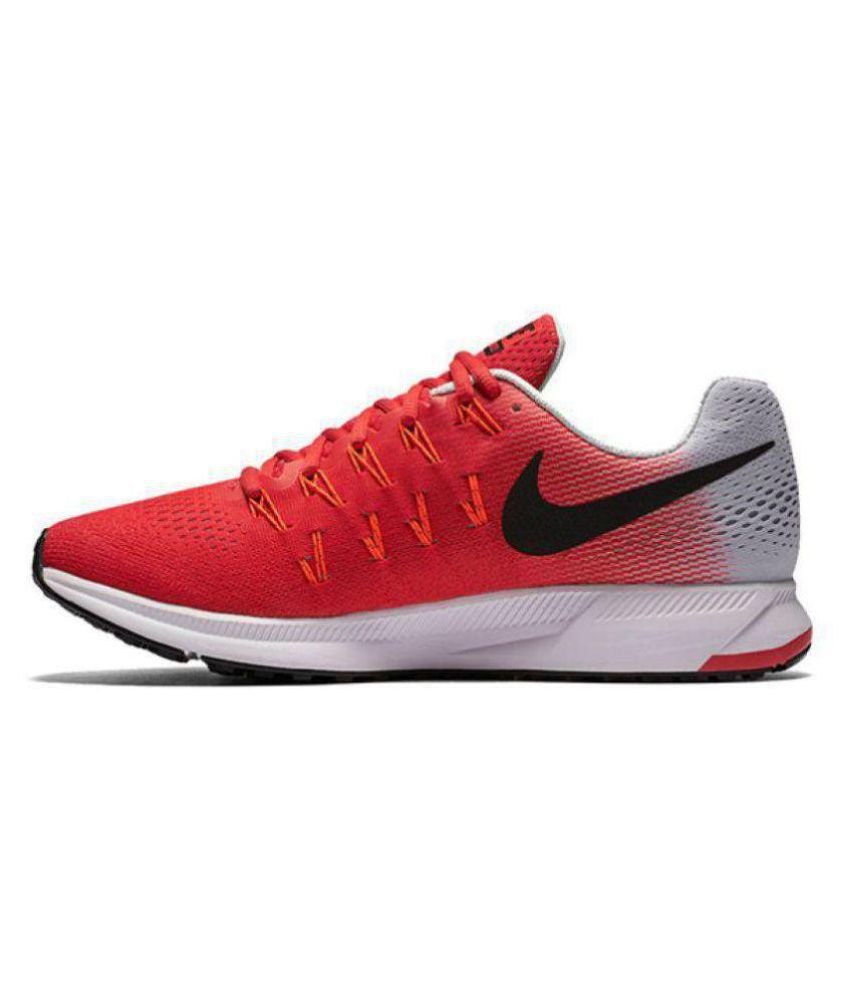 c33ab6046 Nike Air zoom 33 pegasus nike air pegasus 33 red white running shoes  Running Shoes Red: Buy Online at Best Price on Snapdeal