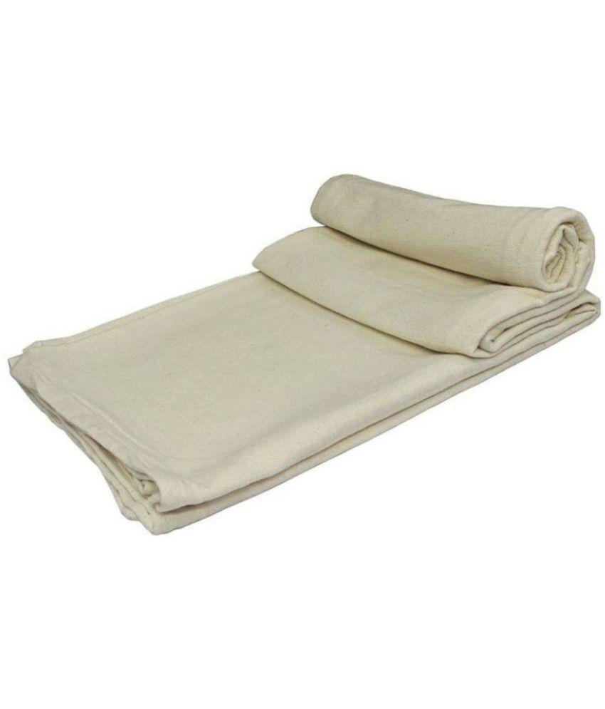 Ryan Overseas King Cotton Plain Blanket