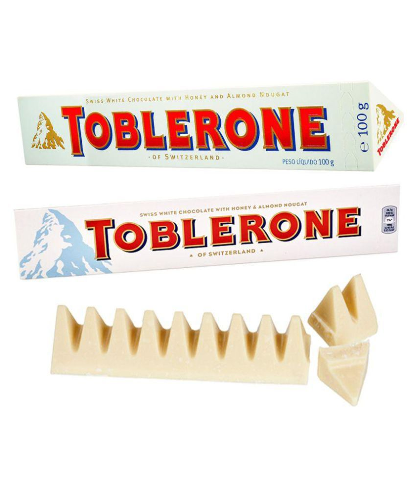 Toblerone White Chocolate 100g Pack Of 4 Best Christmas
