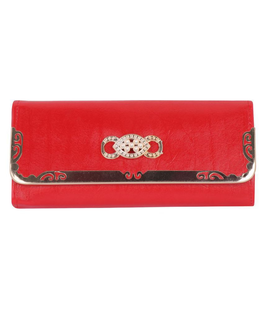 Tulip Red Wallet