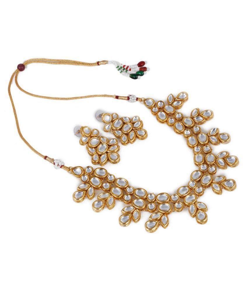 Aradhya Bollywood Inspired Kundan Jewellery Set / Necklace Set ...