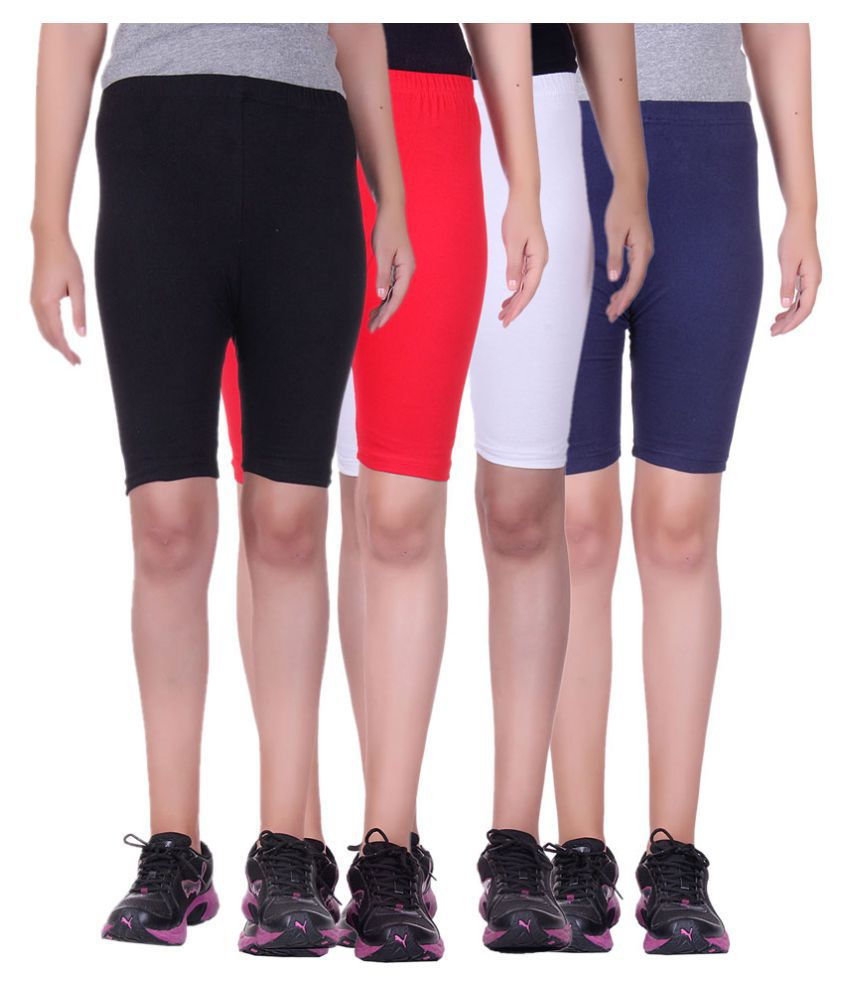 Belmarsh Girls Cycling Shorts - Pack of 4