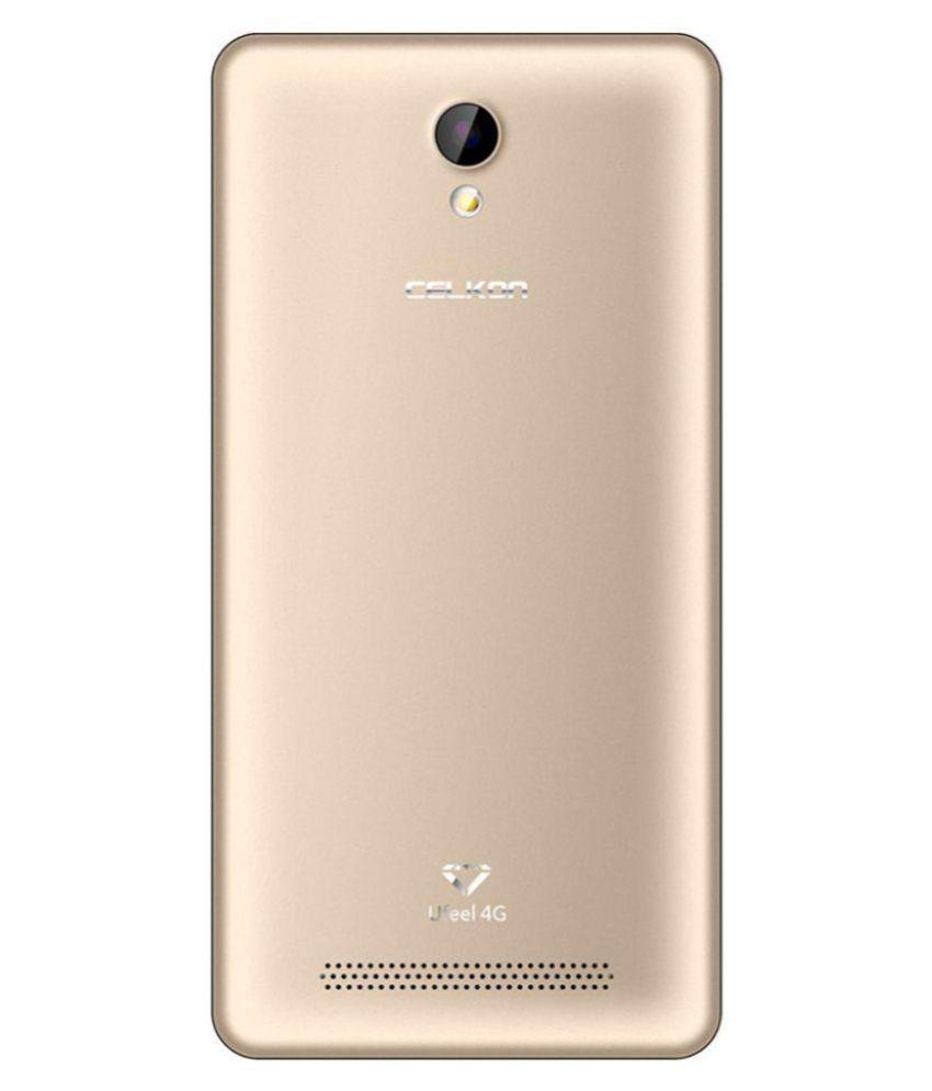 Celkon Black Gold UFeel 4G 8GB